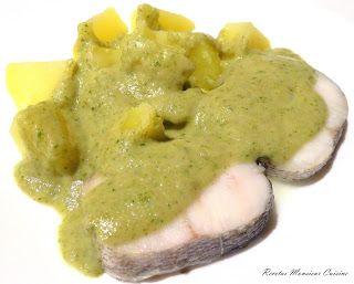 Recetas Monsieur Cuisine: Merluza y Patatas al Vapor con Salsa