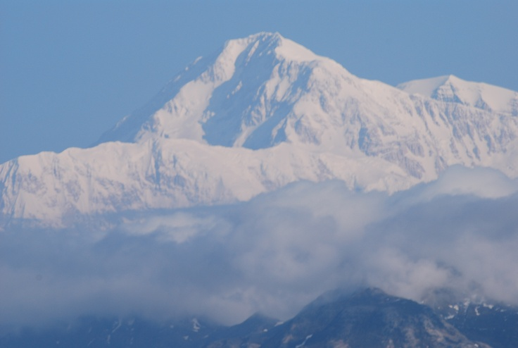 Mt. McKinley, Alaska  Oh the beauty of that mountain!