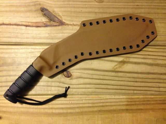 Ontario Kukri Sheath Ontario Kukri Custom Kydex Knife Sheath [ckcksok] - $52.49 : www.ClevelandKydex.com - custom kydex sheaths, custom kydex holsters, custom kydex magazine carriers, custom kydex accessories, SITE_TAGLINE