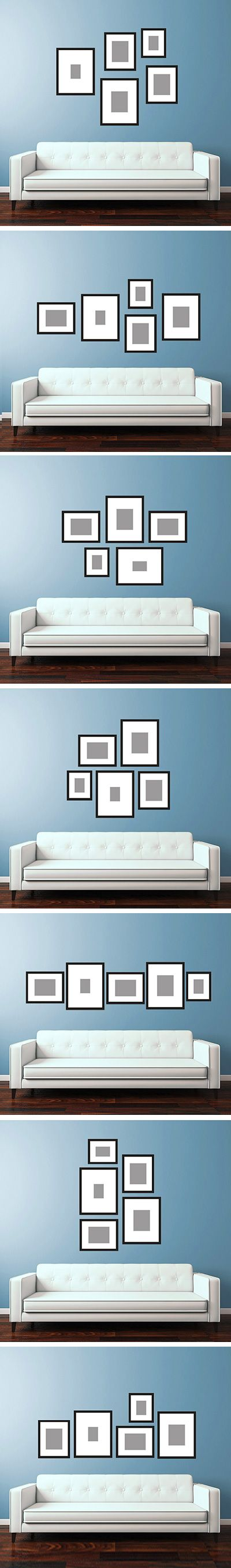 wall templates for hanging pictures - 1000 images about gallery walls or wall collages on pinterest