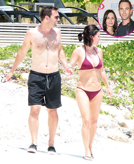 Courteney Cox Flaunts Toned Bikini Bod on Vacation With Fiance Johnny McDaid - Us Weekly