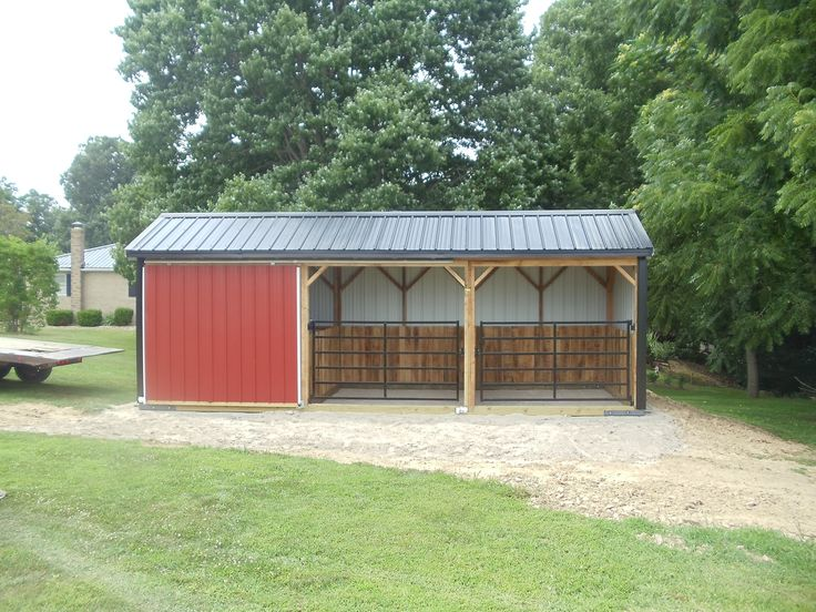 KT Custom Barns, LLC - Run-In Sheds, Portable Shed in 2020 ...