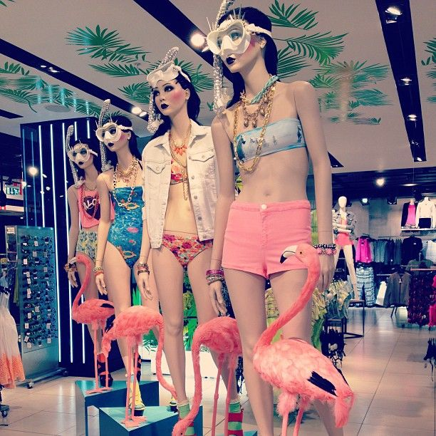 Splash around in style this summer with our smoking hot swimwear and statement jewels!