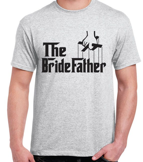 The Bridefather. Funny men's Tshirt. Godfather by Lollipopclothing, $16.99