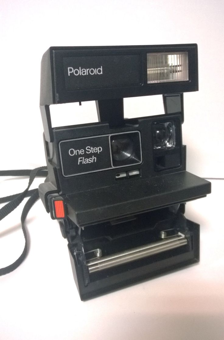 Polaroid One step flash  camera .Good working condition, made in the U.K. by Leryshop on Etsy