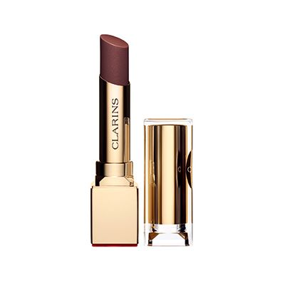 Vampy Lips: i migliori rossetti dark per labbra scure e seducenti | Trend Make Up Autunno 2014 - Clarins Rougle Eclat - 19 Chestnut Brown