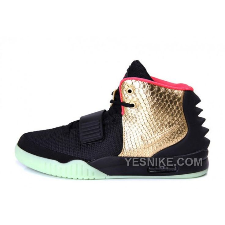 """Big Discount ! 66% OFF! Nike Air Yeezy 2 """"Imperial"""" Black Gold Glow In The Dark, Price: $118.00 - Nike Shoes, Air Jordan shoes 