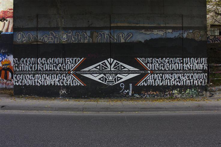 Blaqk #streetart #Gree