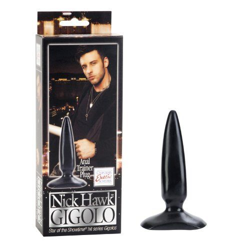 California Exotic Novelties Nick Hawk Gigolo Anal Trainer Plug Black 012 Pound >>> Check out this great product.