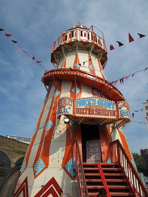 helter skelter there is one of these on Brighton Pier. Never laughed so much!