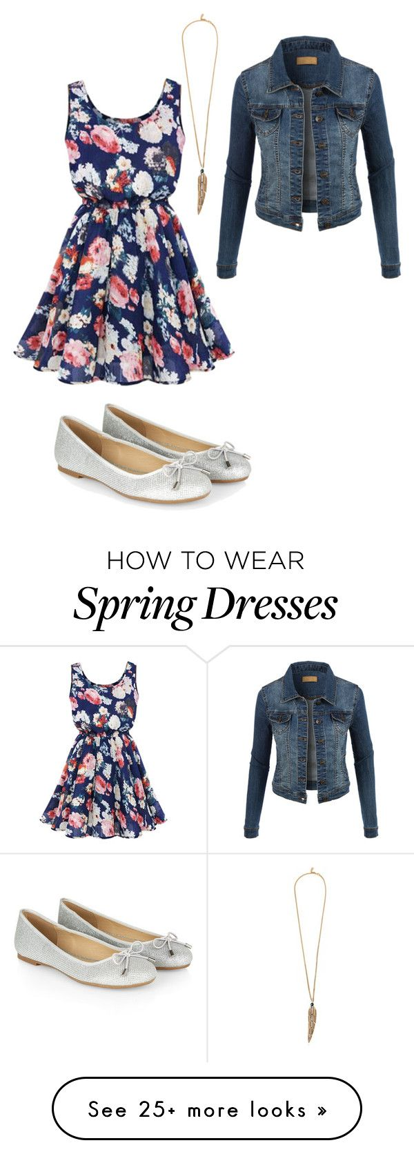 """""""Simple Spring Outfit"""" by nix-outfits on Polyvore featuring LE3NO, Accessorize and Roberto Cavalli"""