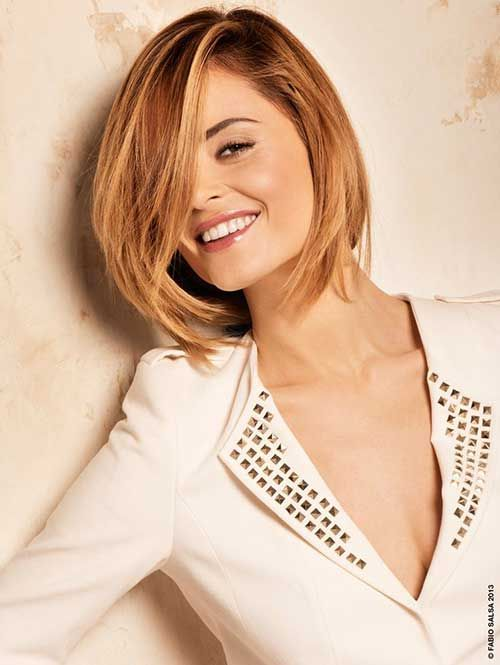 15 Short Straight Hairstyles For Round Faces Straight Hairstyles