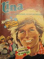 Tina was mijn favoriete tijdschrift tot ik een jaar of 12 was. Daarna kwam de Tina Club, wat veranderde in CLUB. In de zomer kreeg ik het Tina Vakantie boek en natuurlijk Tina Topstrips. De Tina topstrips gingen vaak over meisjes die heel goed waren in ballet, dansen of paardrijden.