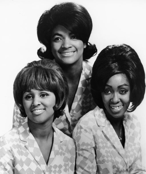 The Blossoms featuring Darlene Love bottom left.  They/Darlene were part of Phil Spector's 'Wall of Sound' Productions.  Also, Darlene's little sister Edna Wright was the lead singer of the 70s girl group, the Honey Comb.
