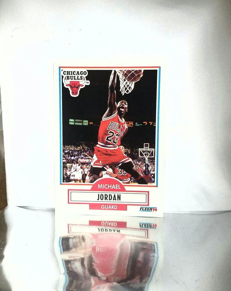 1990 Fleer # 26 Michael Jordan HOF, MVP, Chicago Bulls, NBA, Early Jordan Card! Gem Mint