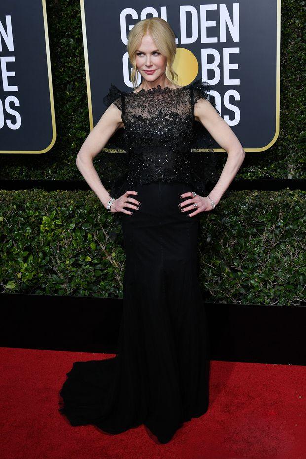 Nicole Kidman fait une déclaration puissante dans une robe délicate au Golden Globe | VocalFun