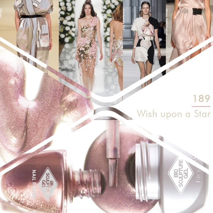 Bio Sculpture Gel Sheer Fantasy nail collection #189 Wish Upon A Star