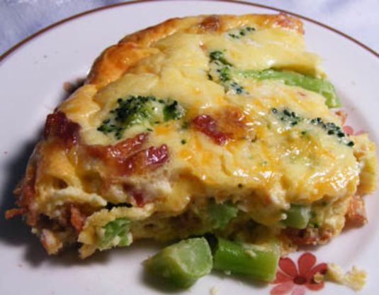 Facebook Pinterest PrintIngredients 1 tablespoon extra-virgin olive oil, plus extra for baking dish 1/2 large onion, diced 2 cups broccoli florets, cut into 1-inch pieces 4 large eggs 1 cup low-fat (1%) milk 1/3 cup freshly grated Pecorino Romano cheese 1/2 teaspoon fine sea salt Freshly ground black pepper 1/2 teaspoon dried oregano 1/4 cup brown rice flour dash paprika Directions Preheat the oven to 350°F. Lightly oil a 9-inch square baking dish and set aside. In a ...