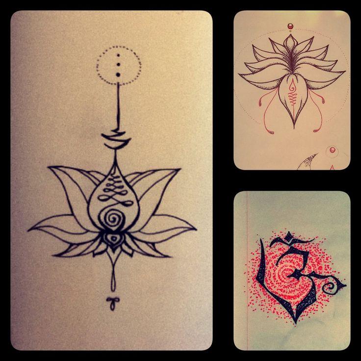 Unaloome personalizzato- Fiore di Loto-Om
