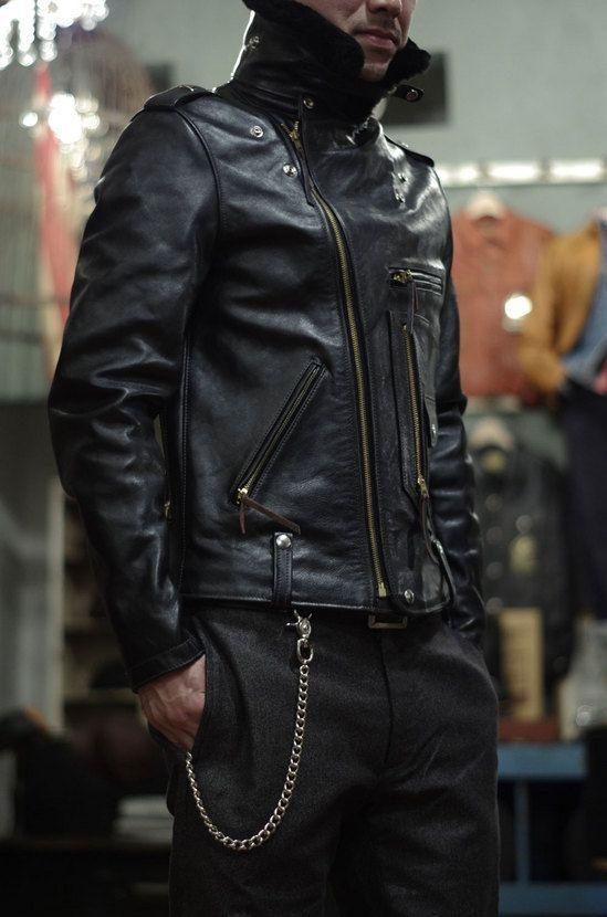 343a30c961d Пин от пользователя Black Leather Jacket на доске Mens Biker Jackets ...