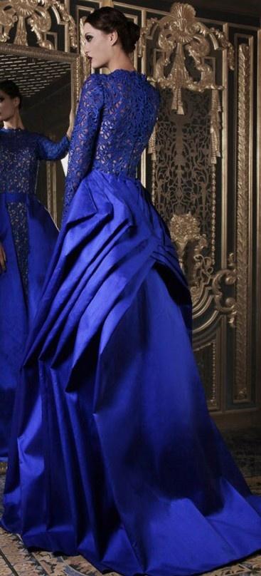 rami kadi ♥✤ | Keep the Glamour | BeStayBeautiful blue dress