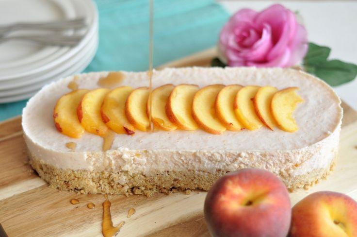 Kwarkslof met perziken; lekker fris genieten | Lekker Tafelen