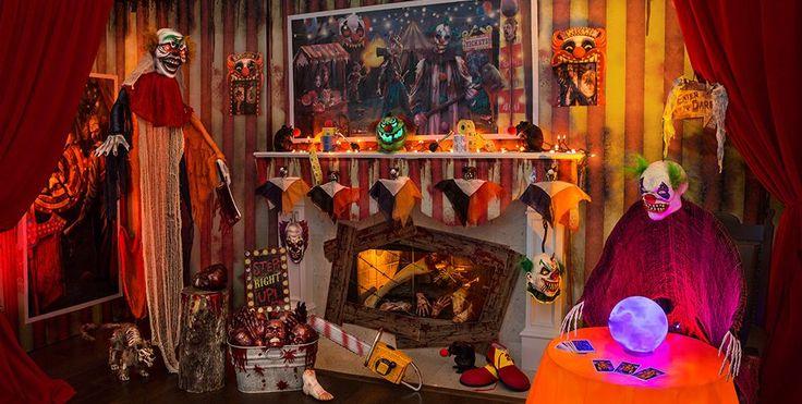 Creepy Carnival Halloween Decorations