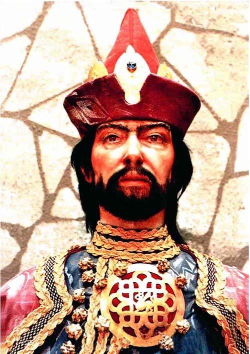 IV. (Kun) László, Árpád-házi magyar király (uralkodása: 1272–1290 V. István fia