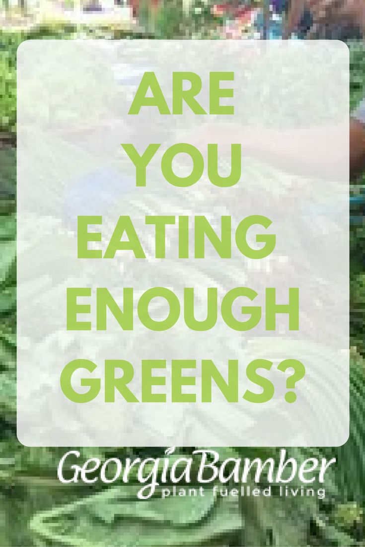 Greens are the power food you should add to your diet every day. Are you getting enough? Possibly not. Read on to get an insight into just how much is enough!