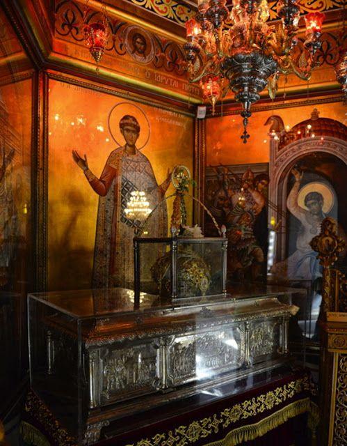 Παναγία Ιεροσολυμίτισσα: Το θαύμα της Μυρόβλυσης του Αγίου Δημητρίου
