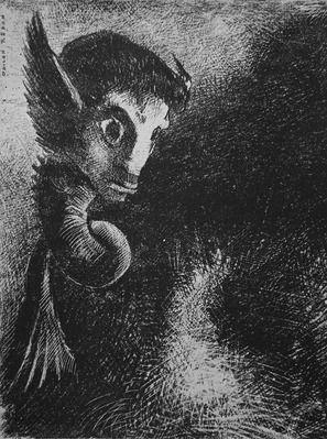 母に捨てられたオディロン ルドン ー象徴主義6ー ノラの絵画の時間 オディロン ルドン ルドン 象徴主義