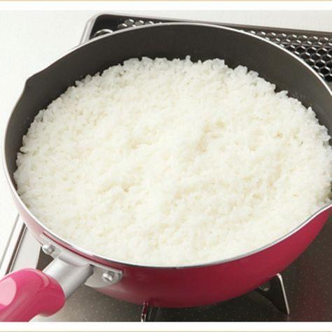 ご飯を炊き忘れた? そんなときは5分で炊ける「フライパン炊き」でご飯を炊こう! - Spotlight (スポットライト)