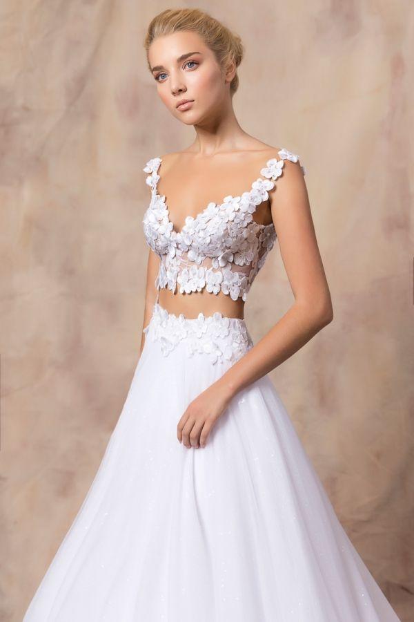 SALLY #weddinggown #celestialcollection #newbridalcollection #costantinobridal #weddingingreece