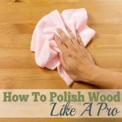 Ever wonder how professional cleaners get wood furniture looking like new? Try my professional methods and polish wood like a pro!