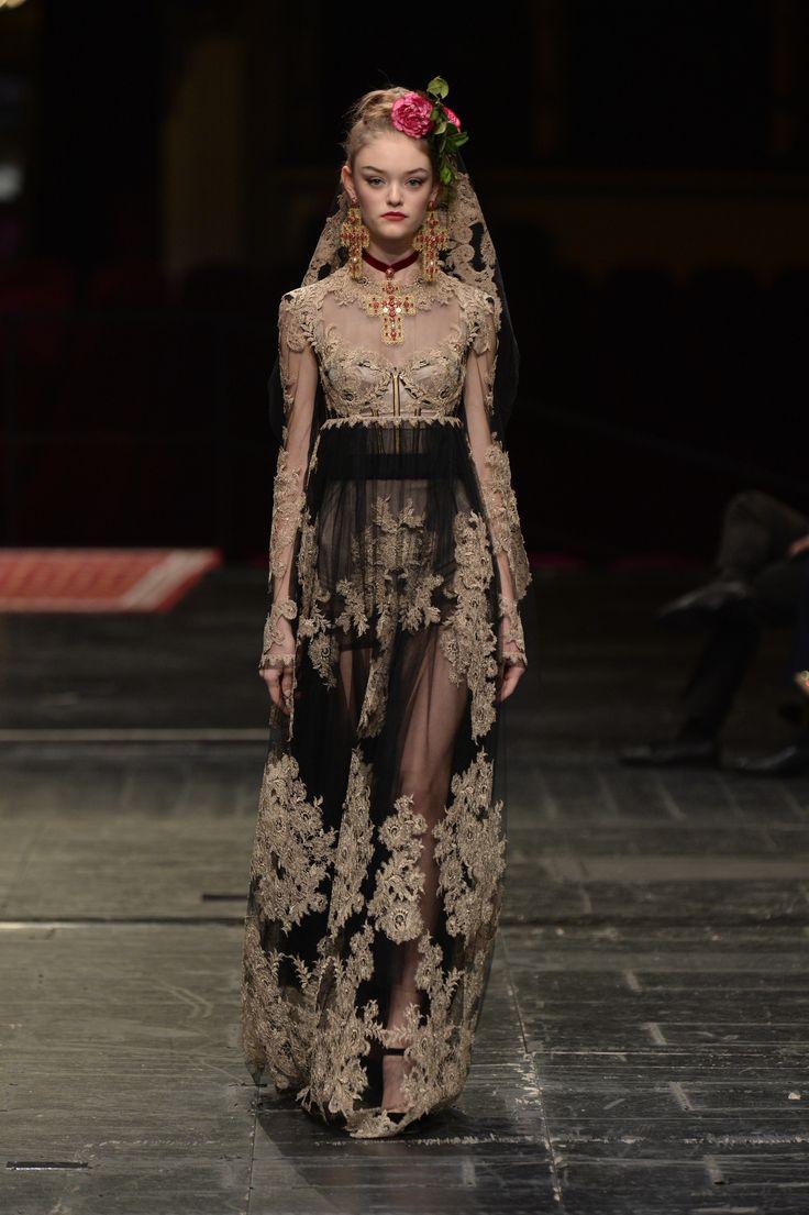 Défilé Dolce & Gabbana Alta Moda Haute Couture printemps-été 2016 66