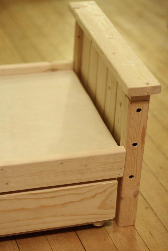 Wooden Trundle Bed Frame Plans Woodworkingplansfurniture