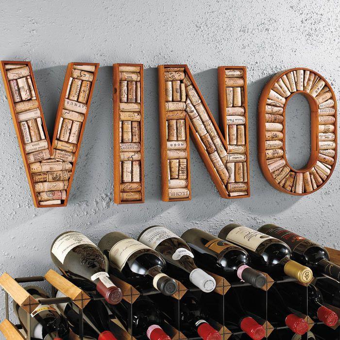 4 Piece Vino Wine Corkboard Frame