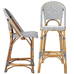 CHIC COASTAL LIVING: Sale Alert: SERENA & LILY bistro chairs bar stools