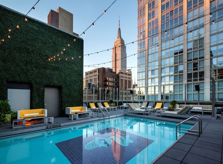 The Gansevoort Park Avenue pushes the envelope of architecture and design.
