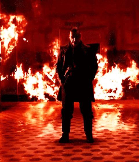 RAMMSTEIN. Mein Herz Brennt. Till Lindemann.