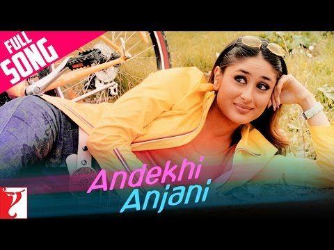 Andekhi Anjaani - Full Song - Mujhse Dosti Karoge | Hrithik Roshan | Kareena Kapoor | Rani Mukerji - YouTube