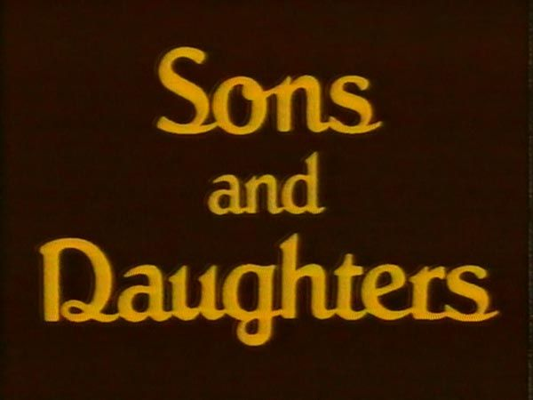 Sons and Daughters - Australian TV show. - my mum hated missing this program. I hated it!! I remember the gold channel starting on sky and she watched the reruns religiously!
