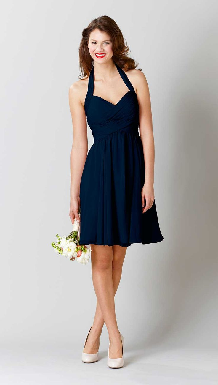 Best 25 halter bridesmaid dresses ideas on pinterest champagne lucy royal blue bridesmaid dressesnavy ombrellifo Image collections