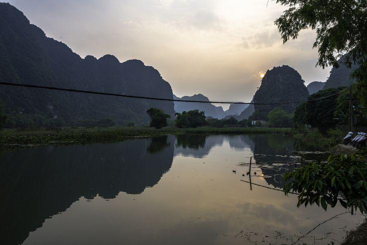 https://flic.kr/p/EyogDU | Skull Island Sunset | Ninh Binh, Vietnam