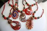 Stunning RED Murano Glass Necklace