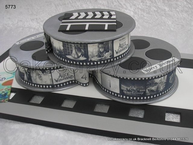 Cake With Photo Reel : 17 Best images about Hollywood Theme on Pinterest Movie ...