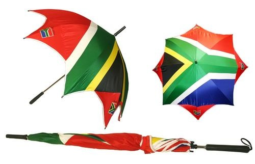 South African Flag Umbrella