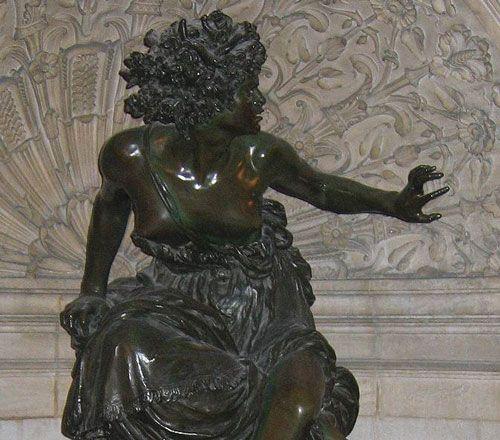 """""""Marcello"""", La Pythie, détail."""