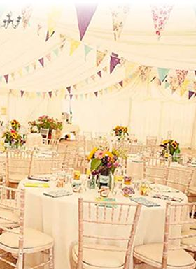 Luxurious Cotton & Vintage Bunting #happyeverafter