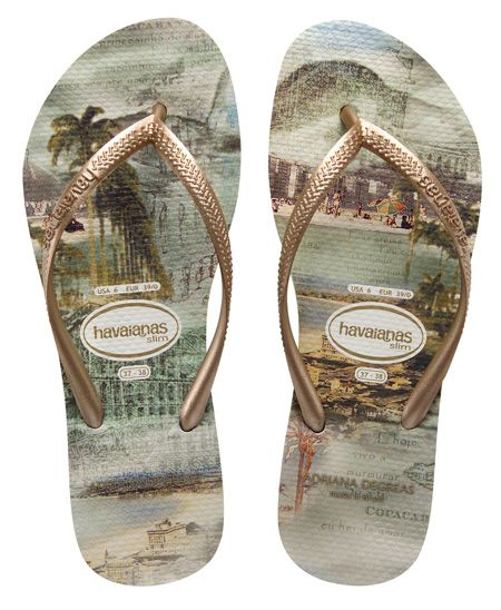 The most expensive Havaiana sandal of the world.